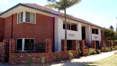 The Bay View Terrace unit complex.