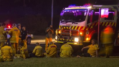 Police investigate 12 suspicious blazes as firefighters race to control bushfires