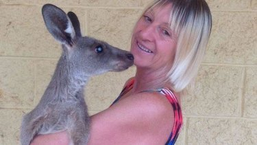 Darling Downs wildlife carer Linda Smith was attacked by a kangaroo.