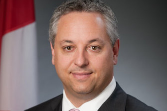 David Vigneault, head of the Canada Canadian Security Intelligence Service.