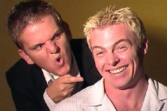Jason Marion and Ray Matsen in 2002.