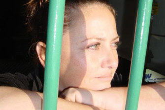 "Kathlin Armstrong, seen in 2008 in a photo staged to appear as if she was in jail, was described by former NSW attorney-general Brad Hazzard as a ""beacon of hope""."