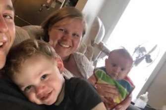 Young mother Tess Clark, and her unborn baby Asher, died in a collision in Pakenham South.