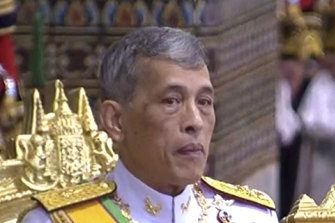 Thailand's King Maha Vajiralongkorn.
