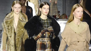 Riccardo Tisci designed Burberry's final runway show in February this year before the pandemic forced the industry to alter the ways they showed collections.