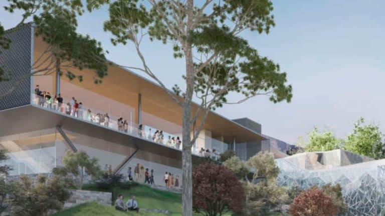 New design for Apple store in Melbourne's Federation Square.
