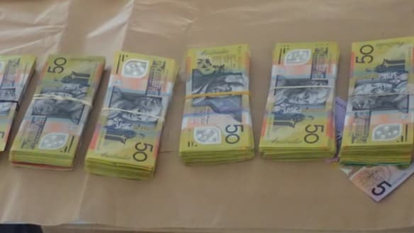 Weapons, drugs and cash uncovered in Mandurah Gang Crime raid