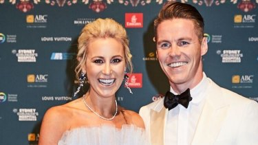 Ticket holders: Roxy Jacenko and Oliver Curtis.