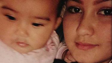 Ziba with her daughter.