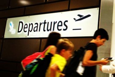 A record number of parents were prevented from leaving the country because of child support debts.