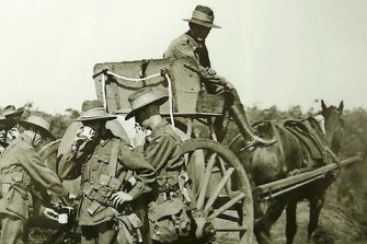 Furphy water carts were used during the First World War.