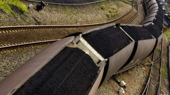 Rolling: Theproposed coal line could be Queensland's most expensive infrastructure project.