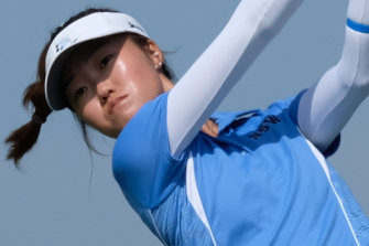 Grace Kim will play in the Augusta National women's Amateur in April.