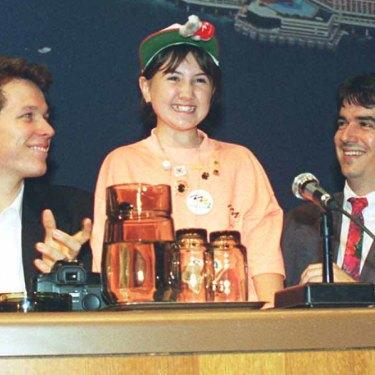 Tanya Blencowe among delegates including Kieren Perkins in Monte Carlo.