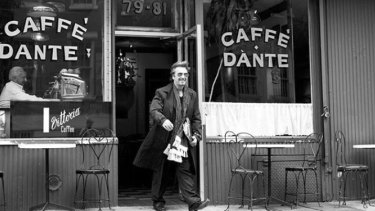 Actor Al Pacino leaving the former Caffe Dante in an undated photo.