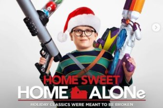 The movie poster for Home Sweet Home Alone.