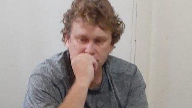 Michael Petersen was detained in Bali over prescription medication.