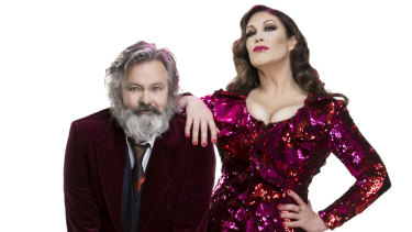 Paul McDermott and Catherine Alcorn star in cabaret extravaganza FNL … Alive and Unlocked!