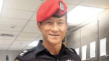 Former Thai Navy Seal Sergeant Saman Gunan.