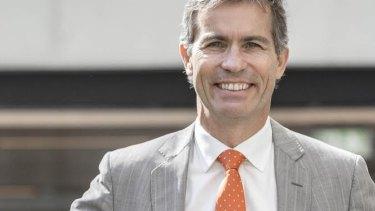 Outgoing University of Queensland vice-chancellor Peter Hoj.