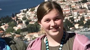 Kate Savage, a Perth teen with sever mental health issues, was hit by a car after stepping into traffic .