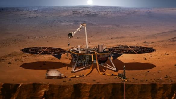 Next Tuesday, NASA will try to land on Mars