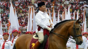 Prabowo rally in 2014