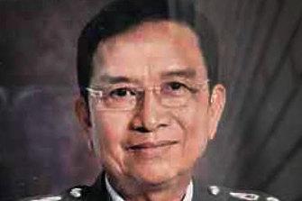 Retired Major General Surajhet Dhammadamrong, head of intelligence at Royal Thai Police narcotics bureau.