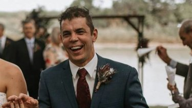 Justin Scott is still missing after falling into Groper Creek in north Queensland on Friday.