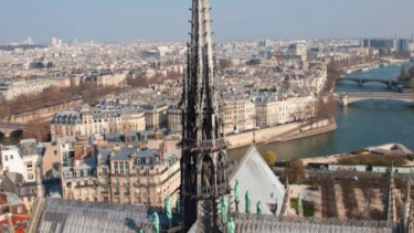 The Spire before the collapse.