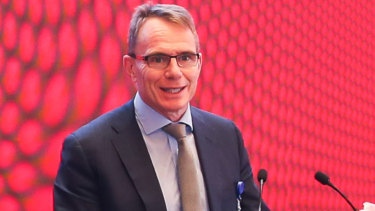 BHP CEO Andrew Mackenzie at the China Development Forum 2019, in Beijing.