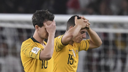 It's not your fault: Socceroos get behind distraught Degenek