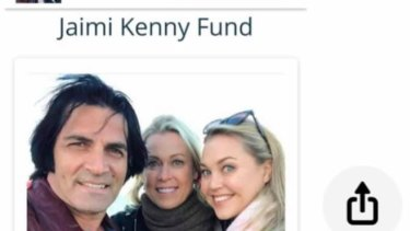 As Lisa Curry deals with the loss of her daughter, a fake Facebook fundraiser has been created with an account posing as her husband Mark Andrew Tabone.
