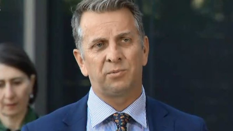 NSW Transport Minister Andrew Constance stripped of senior role – Sydney Morning Herald