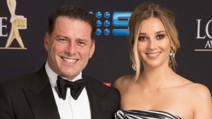 The Goss: Karl Stefanovic's fiancee's attempts to dupe paps in vain