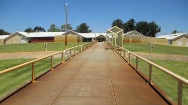 Casuarina Prison south of Perth.