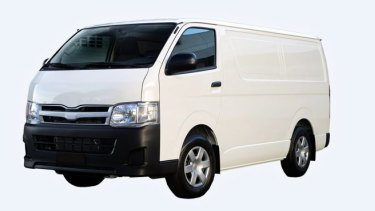 Police believe Ricardo Barbaro could now be travelling in his white 2009 Toyota Hiace van, registration, 1OZ 8PC.