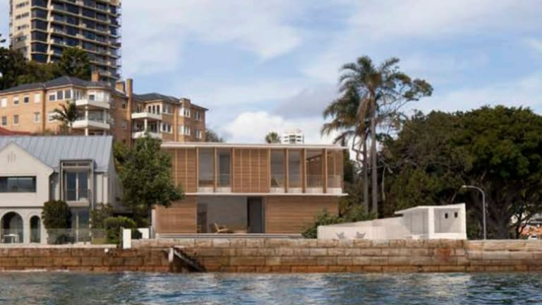Former iProperty boss Patrick Grove will knock down the Darling Point mansion he purchased last year for $28 million, and plans to proceed with this $2.4 million rebuild.