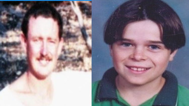 Paul McKinnon (left) was murdered in 1990. Gerard Ross was abducted and murdered in October 1997.