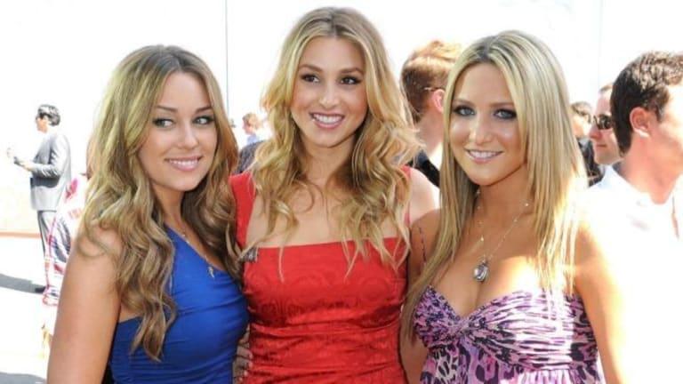 The Hills stars Lauren Conrad, Whitney Port and Stephanie Pratt at the 2008 MTV Movie Awards.
