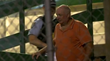 Kenneth Grant, 70, spent Sunday night behind bars after he was charged over the fatal crash.
