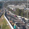 Crashes on Brisbane roads cause commuter delays for kilometres