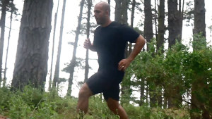 Sabri Suby prefers to run in woodland or in settings as jungle-like as he can find.