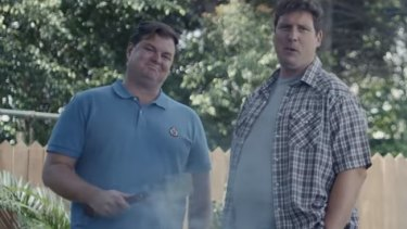 A scene from Gillette's 'The Best Men Can Be' ad.