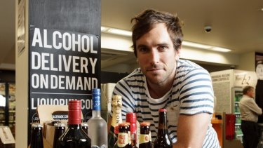 Former AFL player Joel Macdonald started his business career as the co-founder of Liquorun.