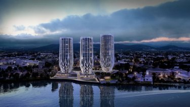 "Sunland proposed a ""champagne flute"" development for the former ABC site at Toowong before it was successfully appealed."