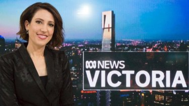 ABC newsreader Tamara Oudyn.