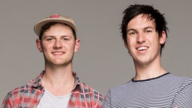 Triple J breakfast hosts Ben and Liam.