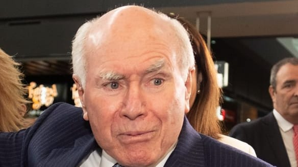 With the greatest respect, John Howard, the Libs are in trouble