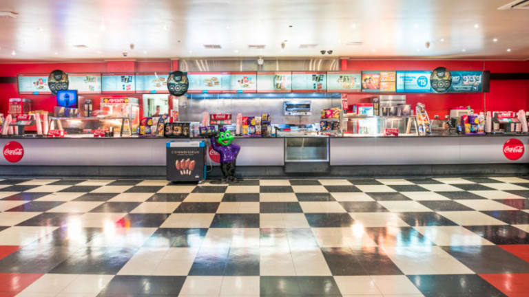 The retro diner on the site is part of the sale.
